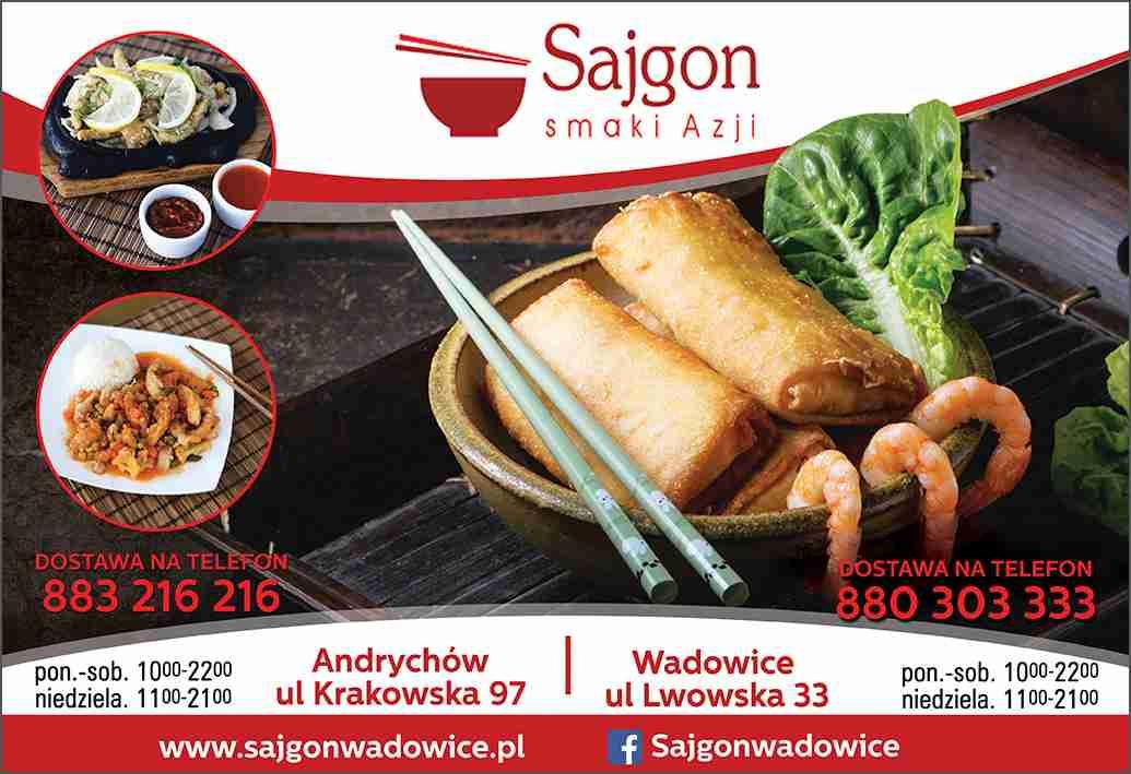 Sajgon Smaki Azji Wadowice Kuchnia Azjatycka Kuchnia Chińska